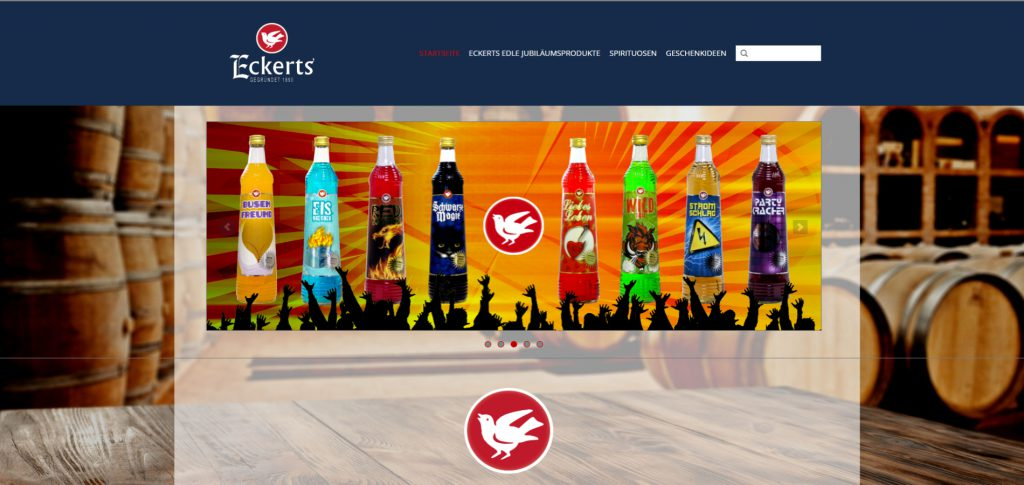 Webshop Eckerts Wacholder